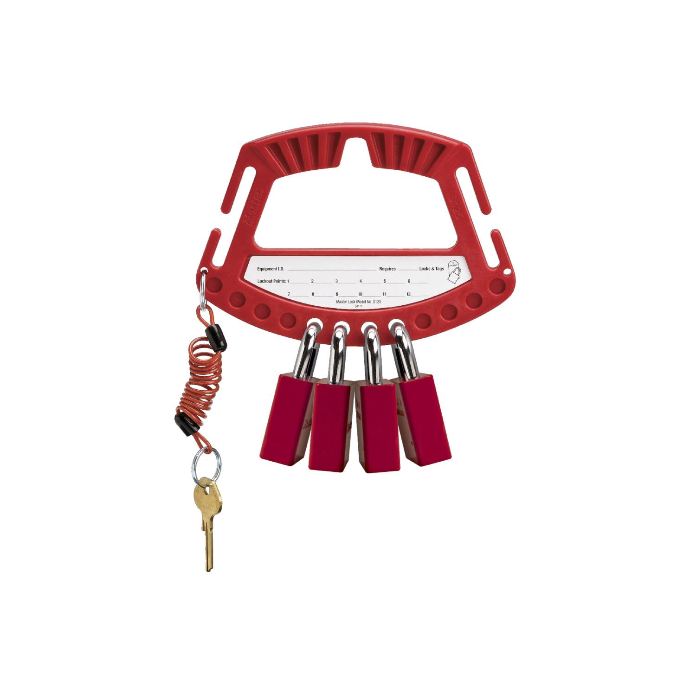 MASTER LOCK accessoires et verrous de consignation S125 valet à cadenas