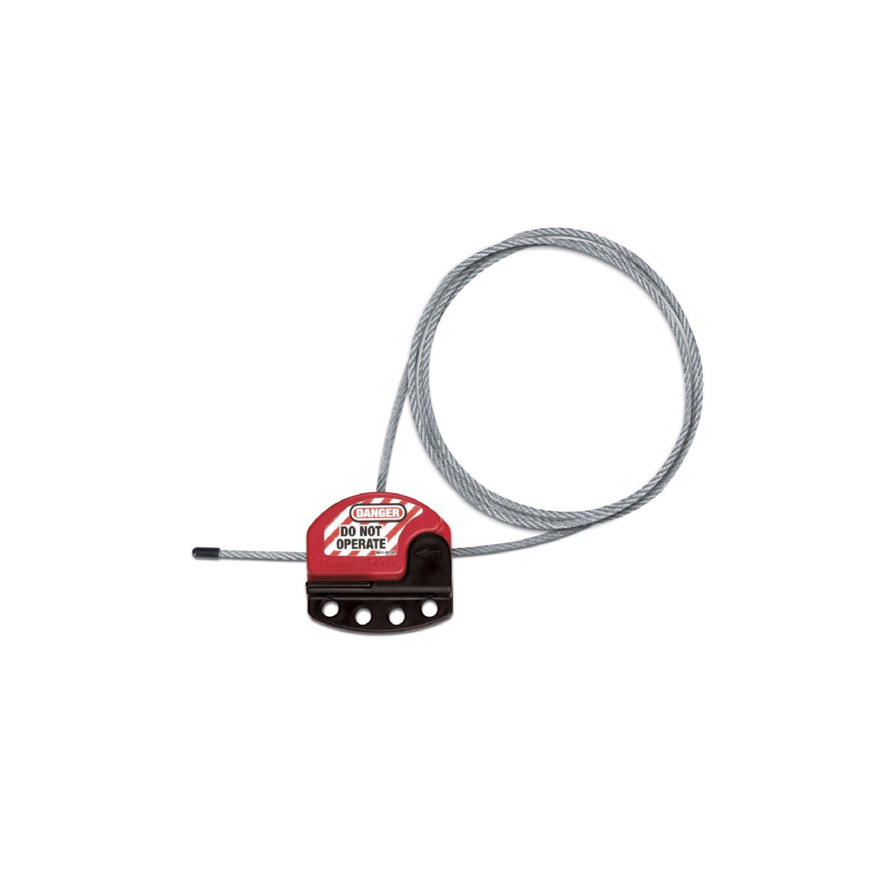 MASTER LOCK accessoires et verrous de consignation S806 verrou à cable