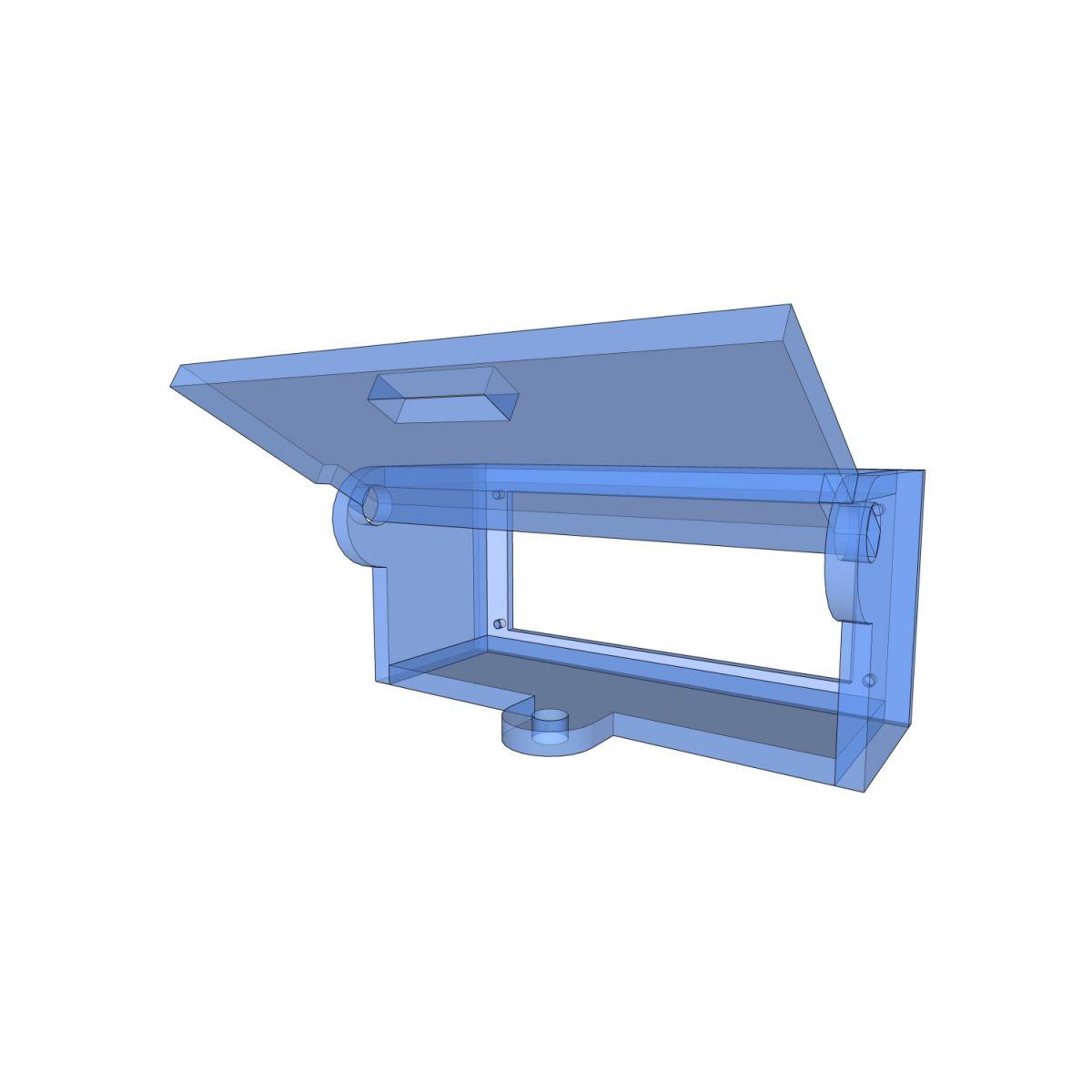 Postes de cadenassage en polycarbonate | BLC-BOR-OUV11 2