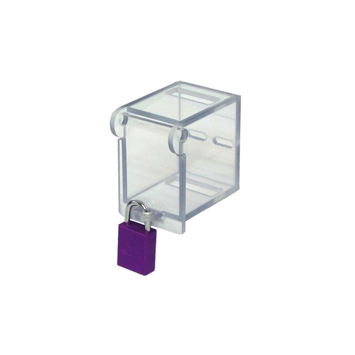 Postes de cadenassage en polycarbonate | BLC-BOR-OUV12 2